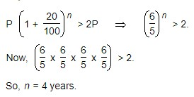 number of complete years