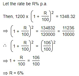 rate of compound interest